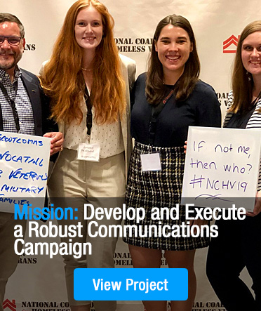 Mission: Develop and Execute a Robust Communications Campaign
